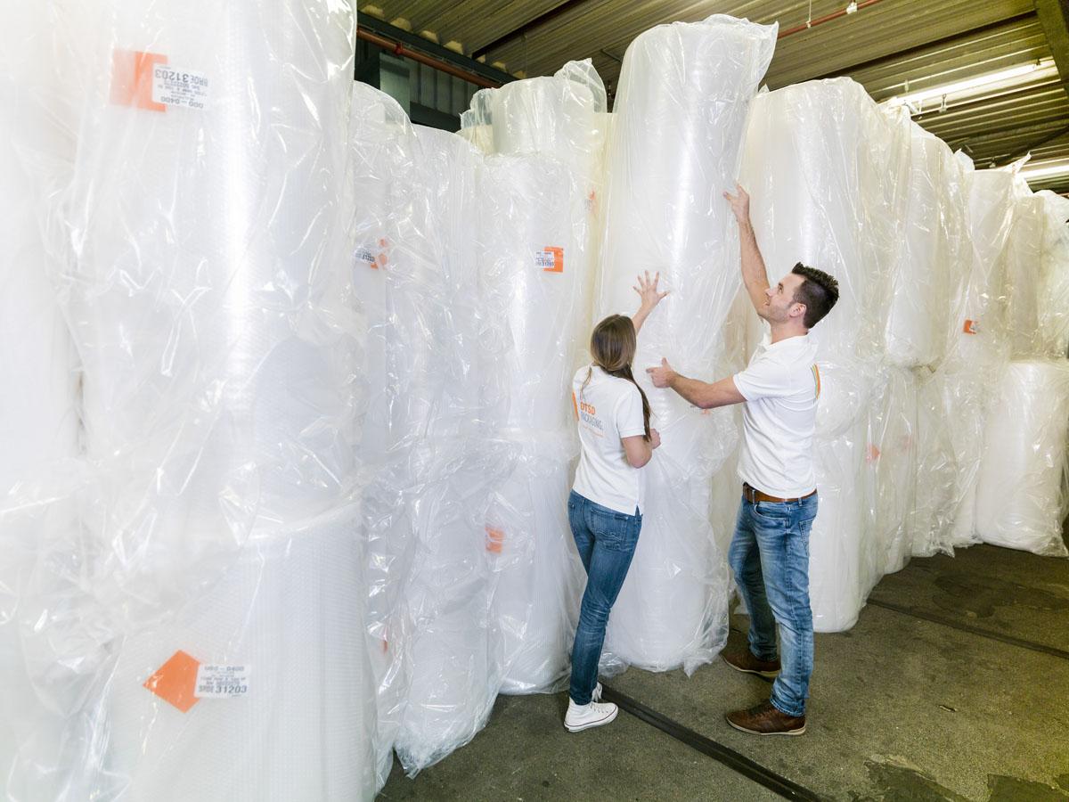 Opvulmaterialen  van DTSD Verpakkingen Dordrecht