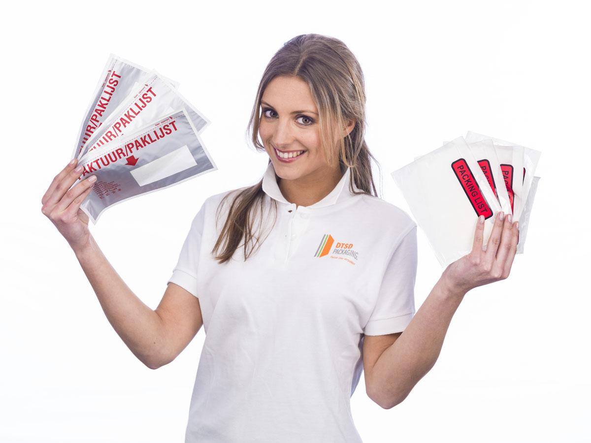 Enveloppen, gripzakjes en draagtassen van DTSD Verpakkingen Dordrecht