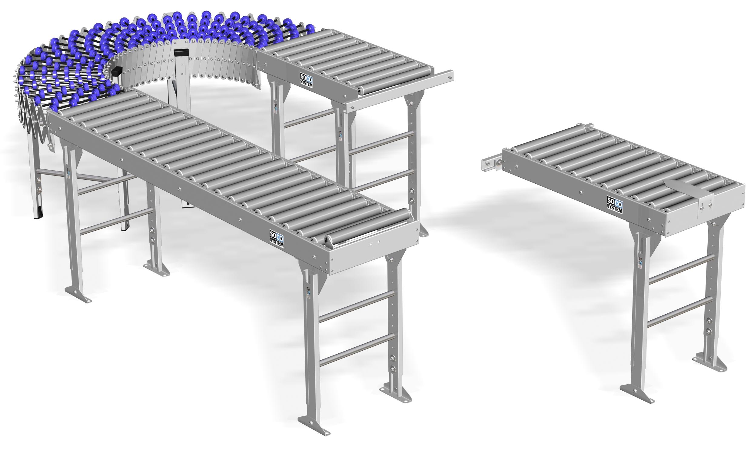 Rollerbanen van DTSD Verpakkingen Dordrecht