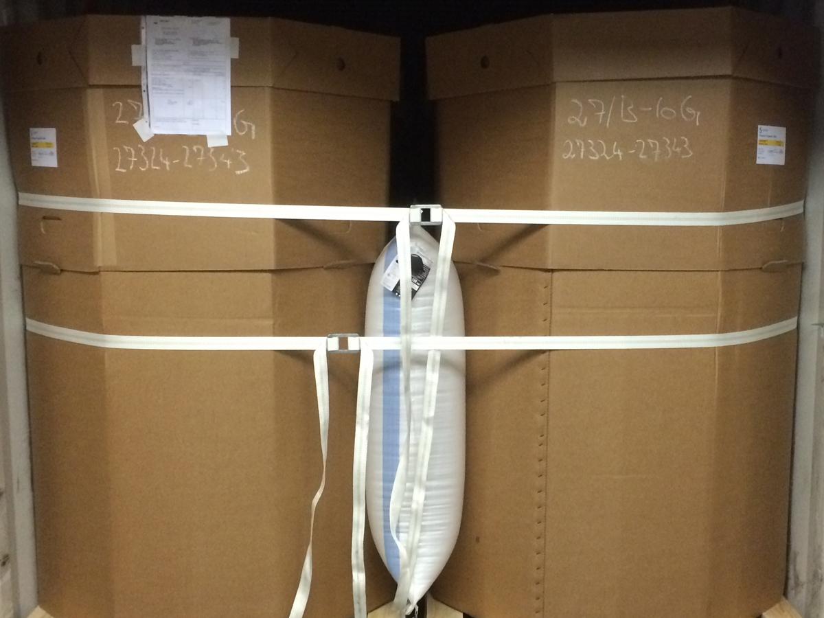 Lashing oplossingen van DTSD Verpakkingen Dordrecht