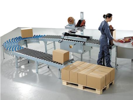 Logistieke inrichting door DTSD Packaging Dordrecht met de Soco Boomerang